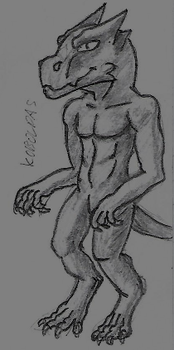 Kobold - sketch by marek276