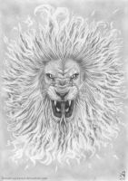 Lion-Serpent Sun II by KainMorgenmeer