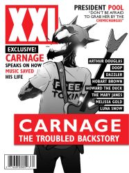 Carnage magazine by CLE2