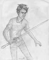 Percy Jackson by burdge