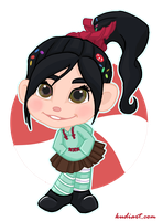 Vanellope by ChrisWithATa
