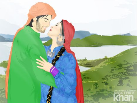 Romantic in the Dadyal by ArsalanKhanArtist