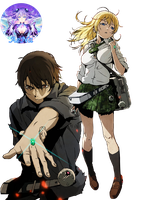 Btooom! 01 Render by AeNa34
