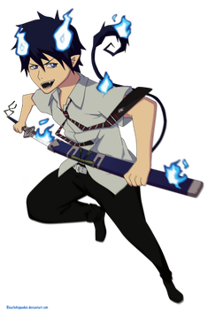 The Blue Exorcist by BleachShippuden