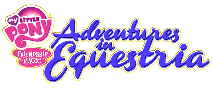 Adventures in Equestria Logo by HewyToonmore