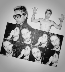 Jared Leto by Terry Richardson by ClairuVampire