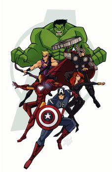 The Avengers by Tigerhawk01