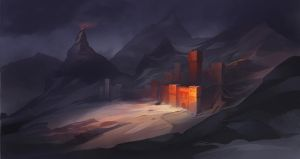 Lost In Mountains by Mirchaz