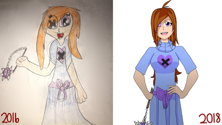 Old Character Redraw by ReddusttheWarrior