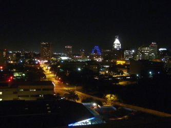 Skyline, Austin by TinMan13