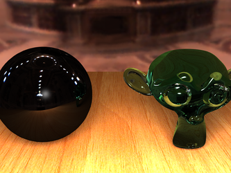 Blender rendering test by Pitel