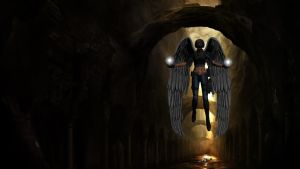 PointBlank Wallpaper - Angel Of Death by TheDamDamBW12
