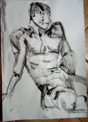 life drawing ink 3 by CalefacientTwilight