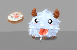 Feed the Poro by Kasu-kan