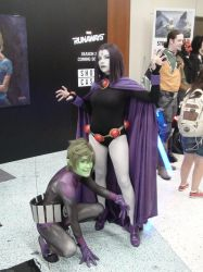 Raven And Beast Boy by Neville6000
