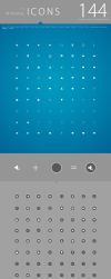 FREE: 144 minimal icons package by calincio