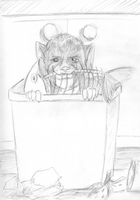 Nico In the Trash by ZhoraTheWolverbabe