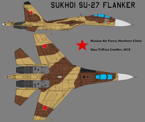 Su-27 'Flanker' - VVS in China by Sgt-Turbo