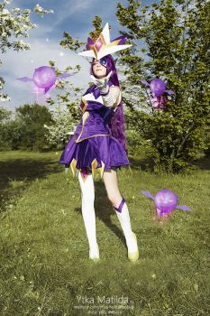 Star Guardian Syndra cosplay Ytka  Matilda by YtkaMatilda