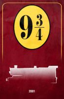 Movie Car Racing Posters - Hogwarts Express by Boomerjinks