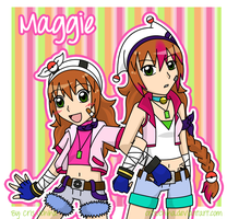 :AT: Maggie in Two Stages by iCrisUchiha