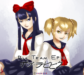 Pop Team Tensei by Duckpasta