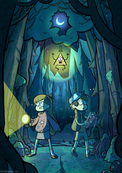 Gravity Falls by blargberries