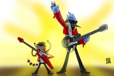 Mordecai And The Rigbys by Mr-Shin