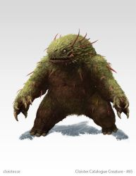 Fraethnin - creature concept by Cloister