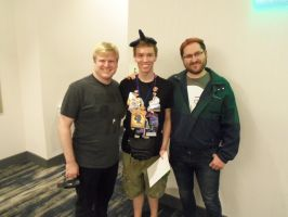 Meeting ACRaceBest and SaberSpark at BABSCon 2017 by XaldinWolfgang