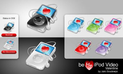 Be my Ipod Video Valentine by weboso
