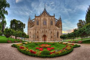 Cathedral of St. Barbara - Kutna Hora by freemax