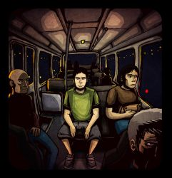 public transport by BeholderKin
