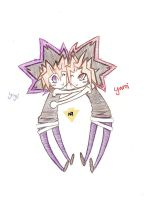 Yami and Yugi by noraelie