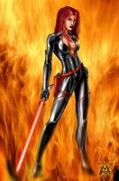 Commission: Sith Female by LRCommissions