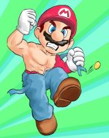 Ripped Mario by MikimusPrime