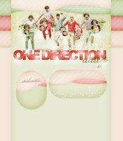 One Direction Premade Layout by littlebutterflyxxx