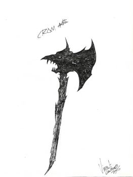 Crom Axe by VincentLentzsch
