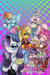 MLP Issue 67 cover: Revenge of the 80's! by andypriceart