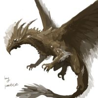 bronze dragon by Pacelic