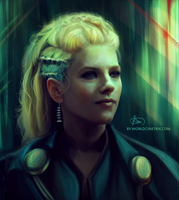 Lagertha / Vikings by cinetrix
