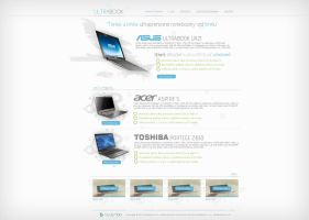 Ultrabook web by Ingnition