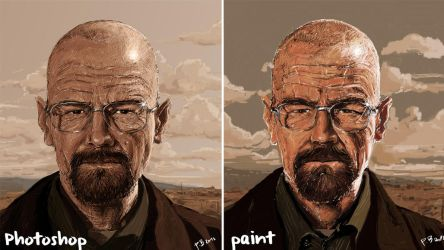 Breaking Bad (Photoshop VS Paint) 1280x720 by BobanPesov