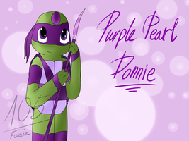 Donnie Purple Pearl [Gem Mutants AU] by Foziz105
