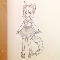 Kemonomimi [10 Point SB] Auction Adopt [Closed] by Sonakii