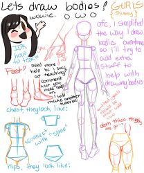 hOW tO dRAw bOdiEs by pinkielora