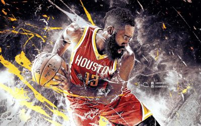 James Harden NBA Wallpaper By Skythlee