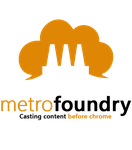 MetroFoundry group header/logo by Orphydian