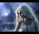 Blue Night II (Close up) by NatsPearlCreation