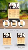 Table Tent Mock-up Template Vol.1 by Itembridge